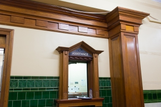 Restored ticket office