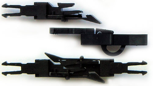 Model Railroad Coupler Types : How to improve old rolling stock part coupling