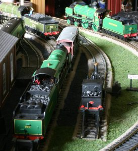 Locoyard Southern Railway 00 scale models - 850 Lord Nelson, W11 Newport, 736 Excalibur & 925 Cheltenham