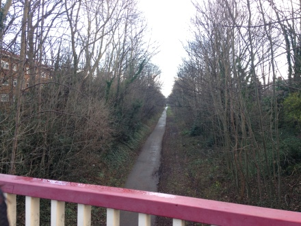 View From Slade Lane