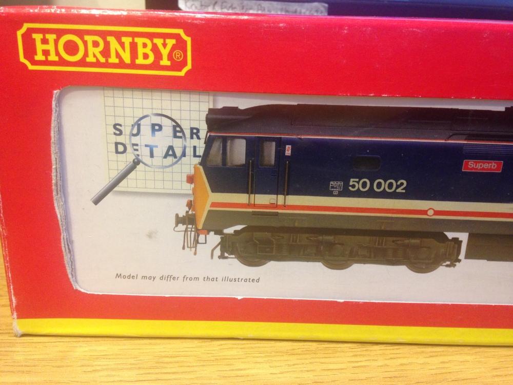Review: Hornby Class 50 (1/6)