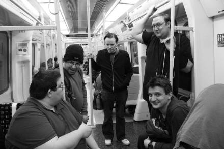 Tube Masters: Chris, Matt, David, Kirk, Geoff - Photo By Victoria Forbes